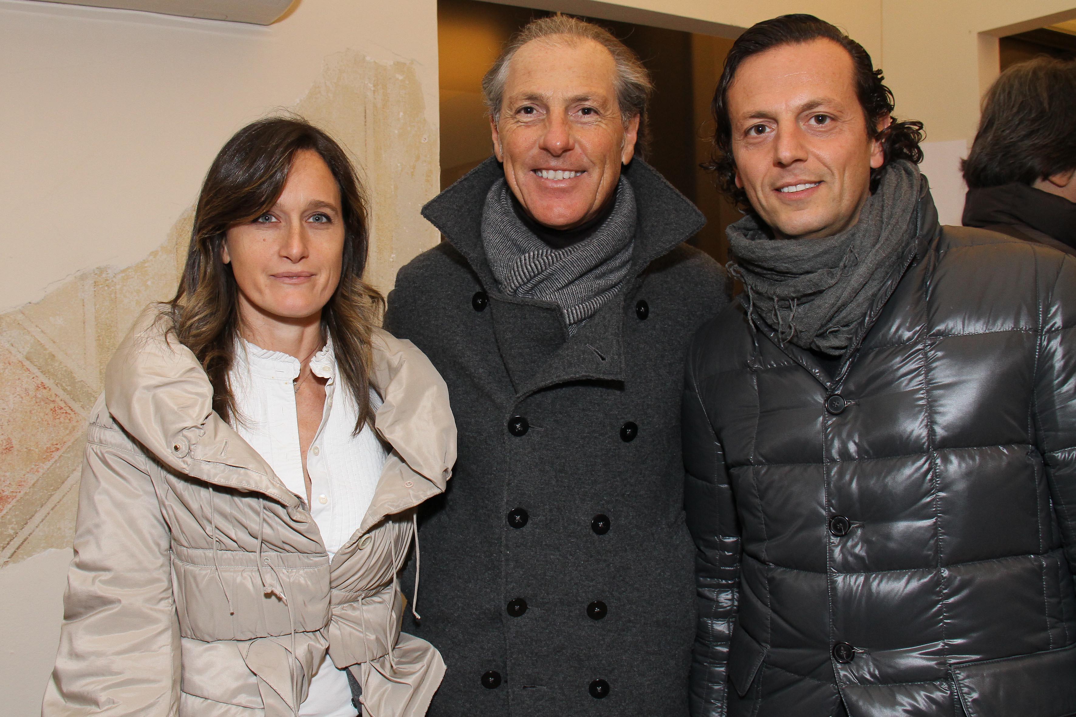 PRESSPHOTO Firenze, palestra OM. Nella foto Claudia Carmignani, Stefano Marianelli, Gabriele Onasina