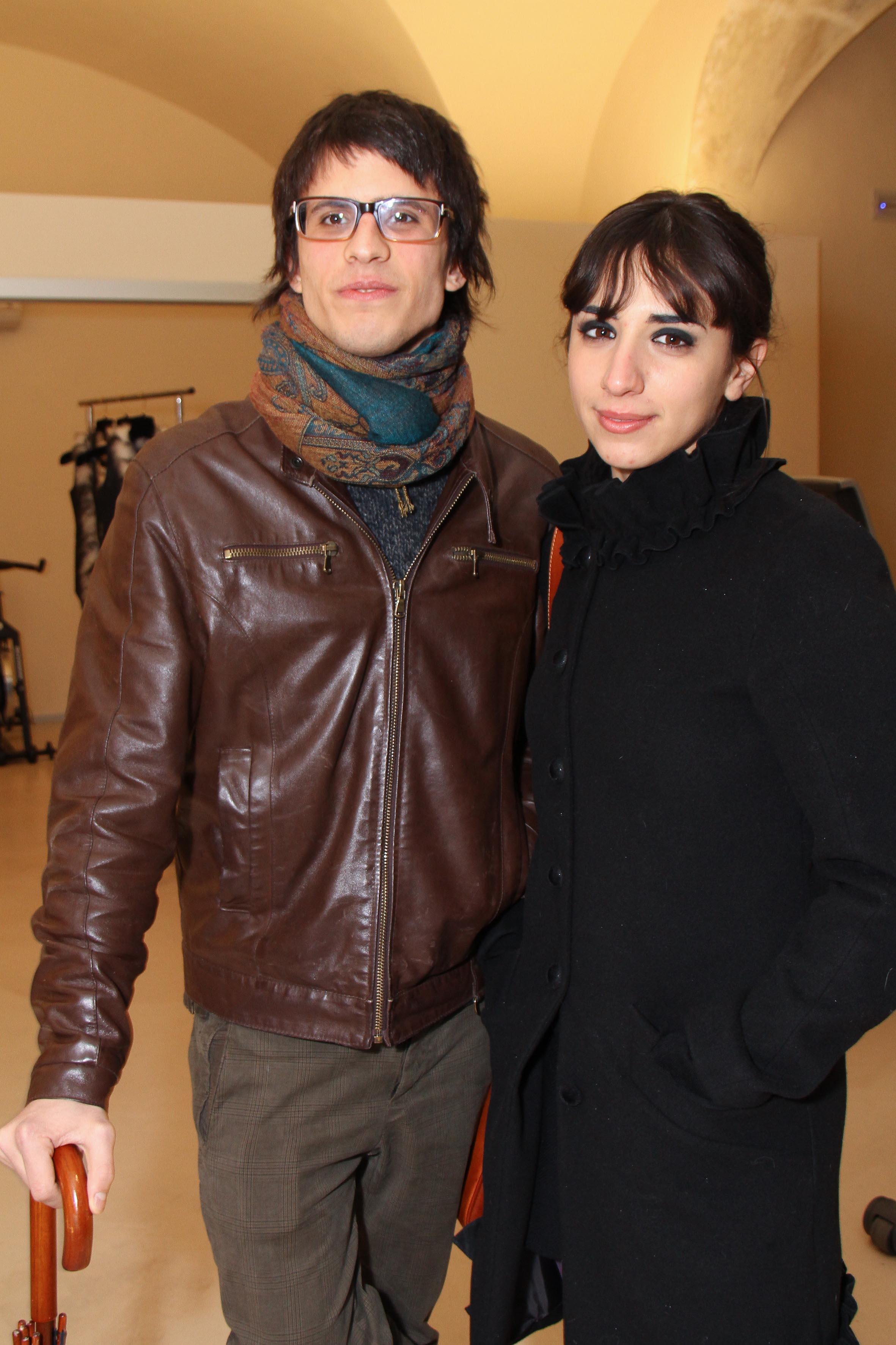 PRESSPHOTO Firenze, palestra OM. Nella foto Mattia Capecchi e Federica Altavilla