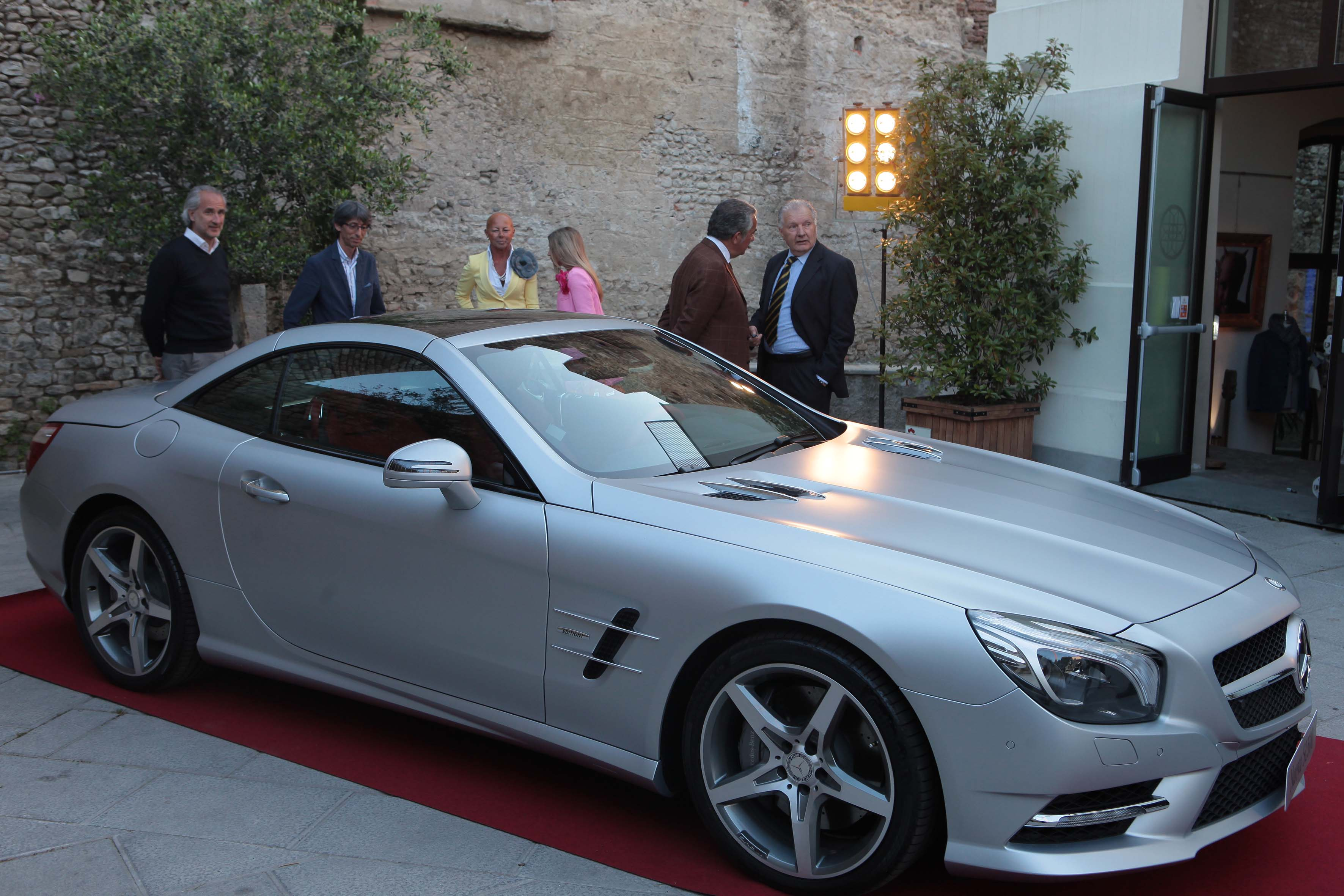 Mercedes SL 500 all'Opificio JM