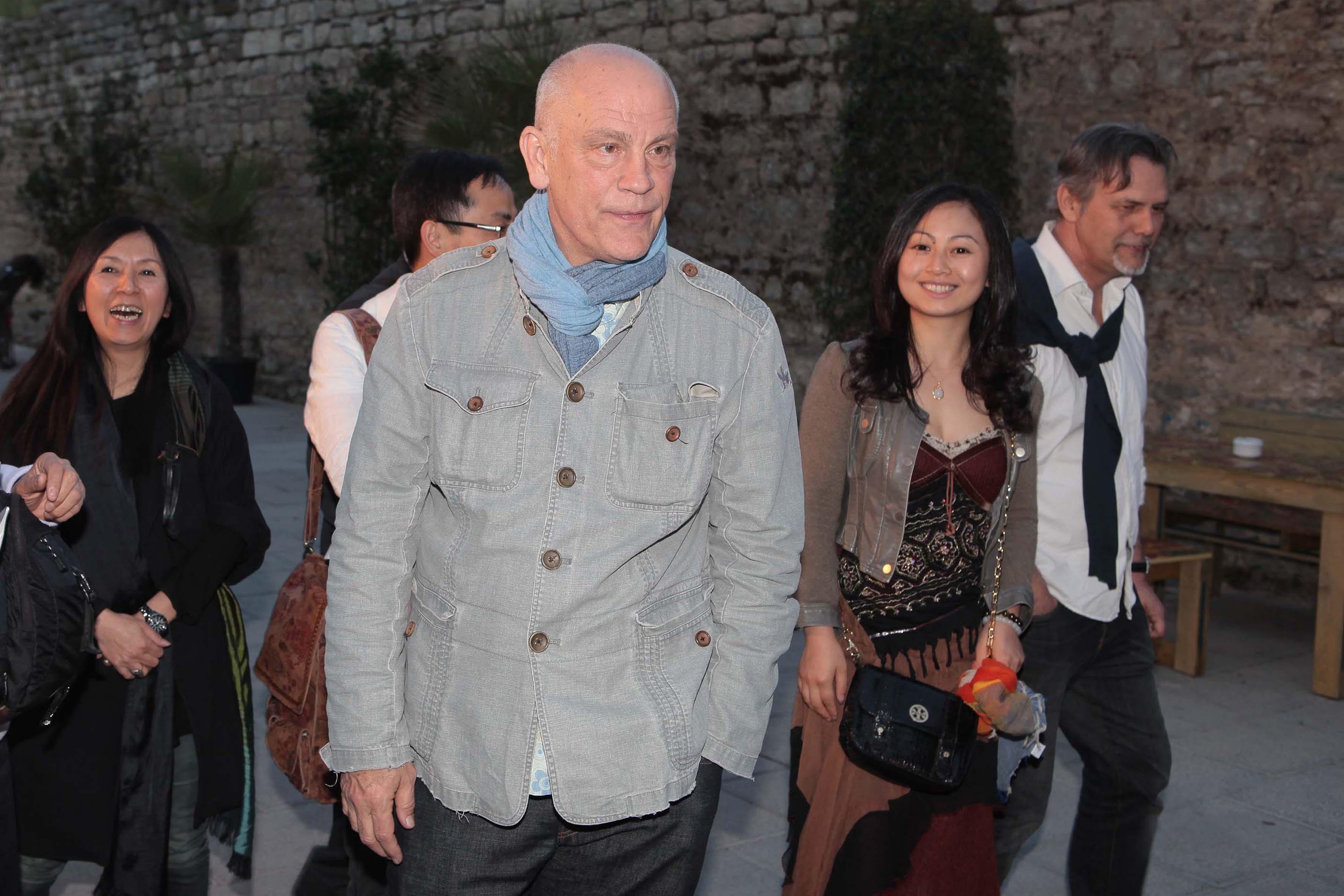 Pressphoto-Firenzemagazine-  Prato Opificio, serata Mercedes- nella foto: John Malkovich