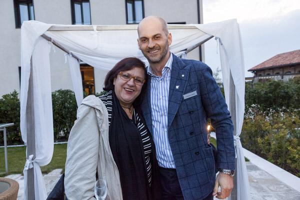 Ornella Naccari, Cristiano Cabutti