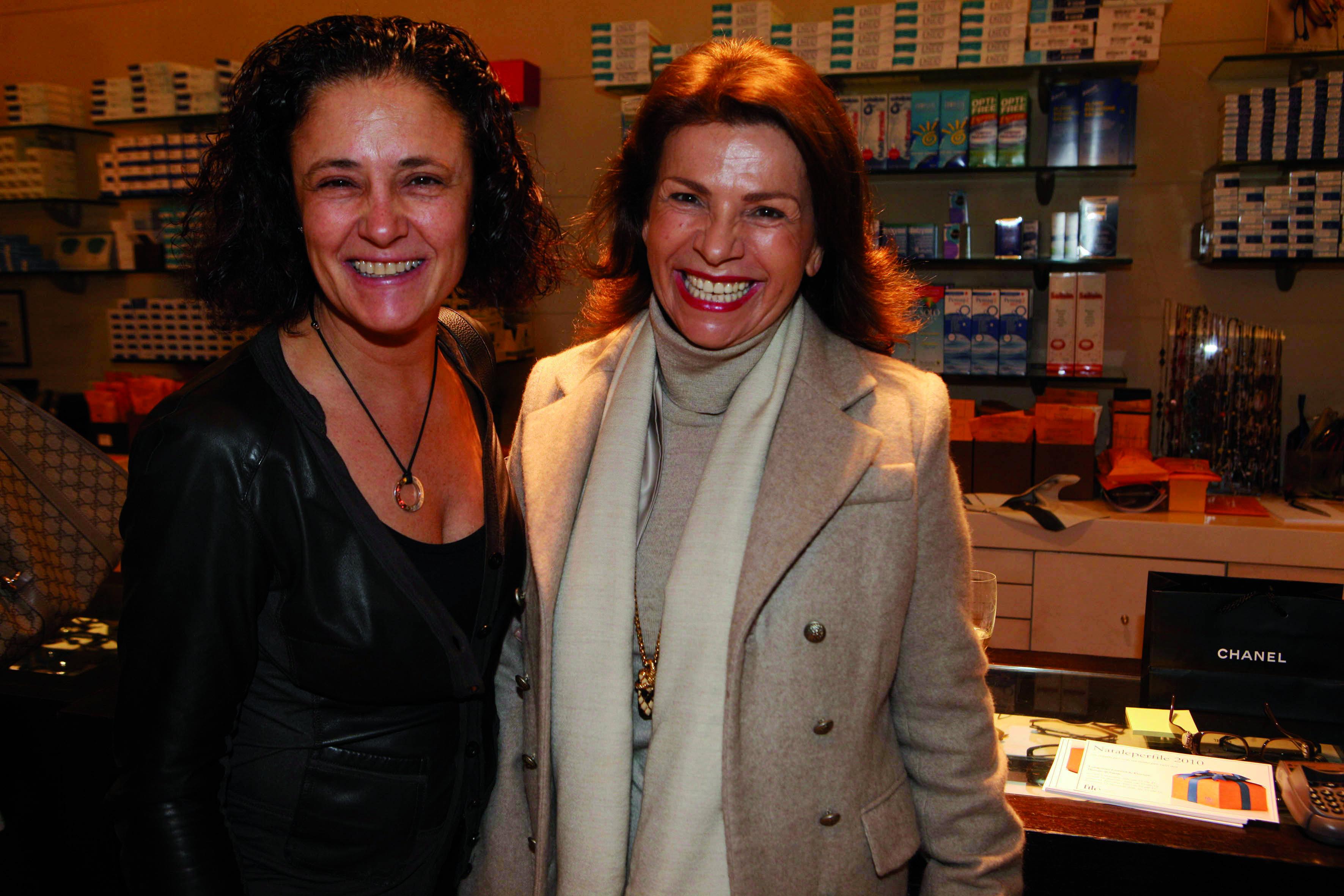 Marina Scattini, Annamaria Civita pressphoto-Firenze Magazine  presentazione collezzione occhiali Chanel all'ottica Fontani