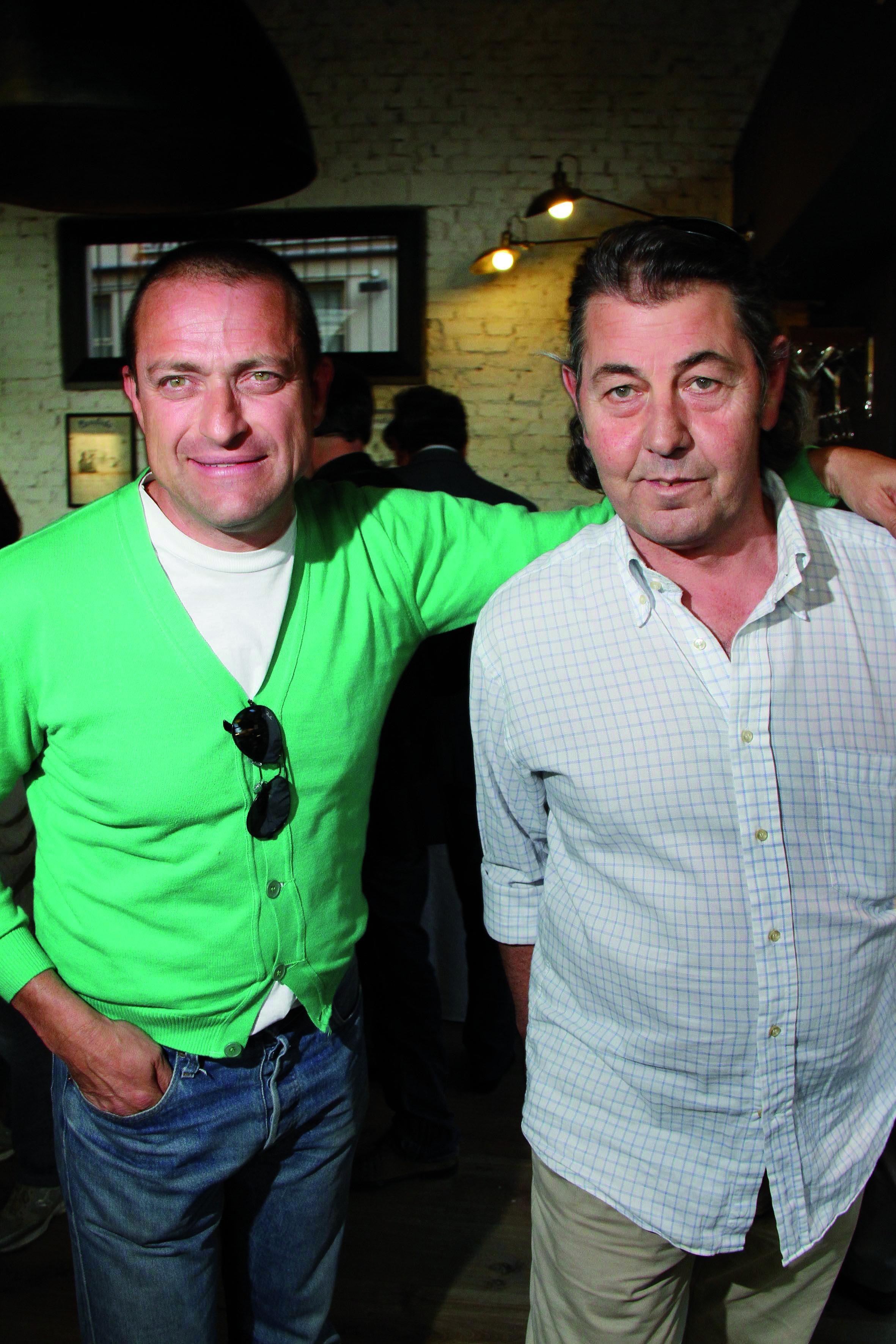 PRESSPHOTO Firenze Magazine, inaugurazione Outside Bistrot: Davide Arrighetti e Roberto Trecchio