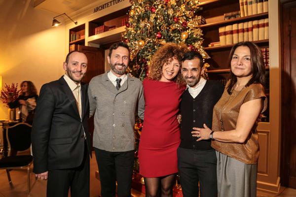 Marco Contiello, Stefano Del Corona, Alice Caporali, Giacomo Fani, Ileana Isidori
