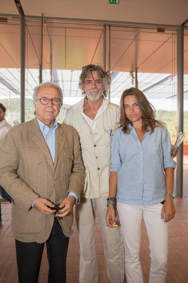 Paolo Panerai, Gaetani D'Aragona and Aline Coquelle