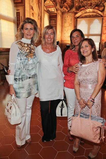 Paola e Laura Gori, Maria Cristina Lombardi, Emma Cipollini