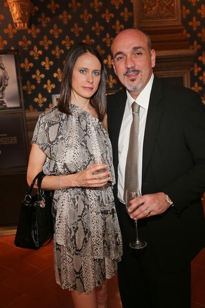 Enrico and Barbara Giotti