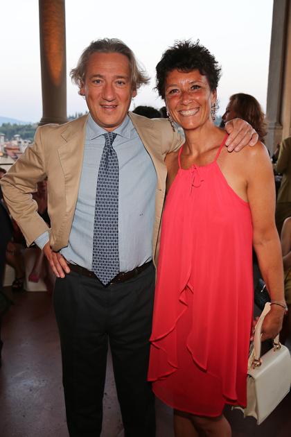 Barbara and Andrea Sacchetti