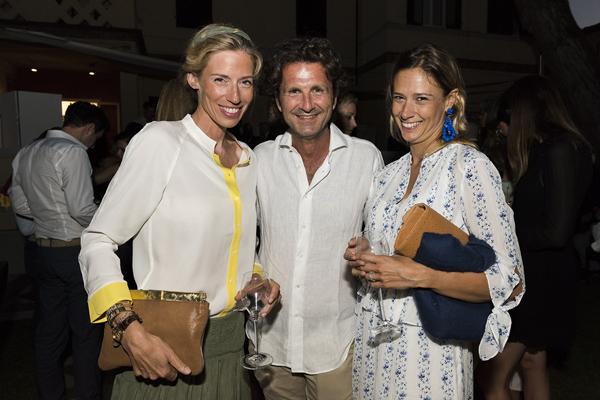 Patricia Du Reau, Lorenzo Ristori ed Alice Giulini