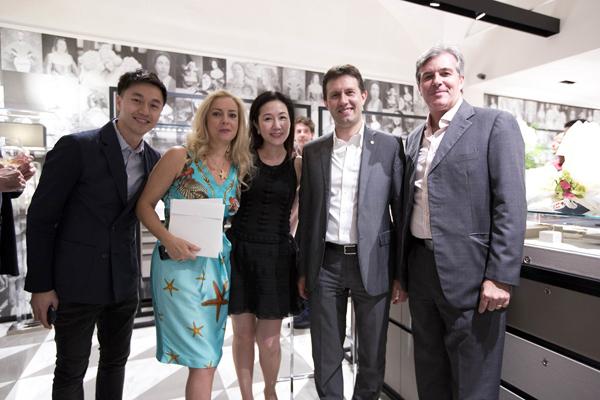 Paul Ng, Deborah Sassorossi, Loretta So, Dario Nardella, Alberto Fraschetti