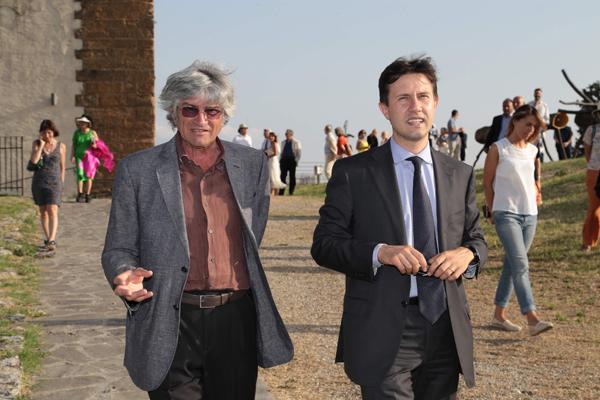 Giuseppe Penone, Dario Nardella