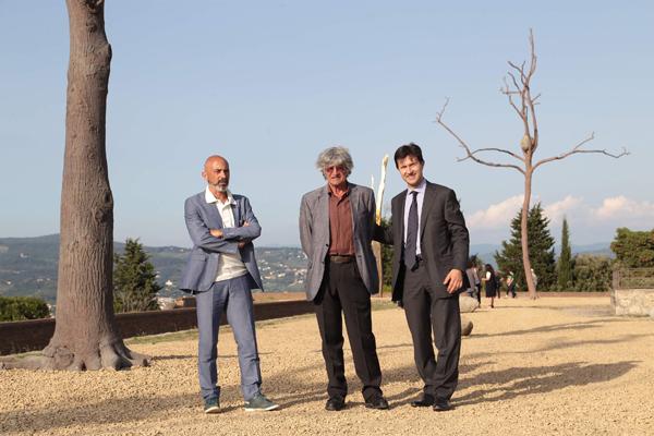 Sergio Risaliti, Giuseppe Penone, Dario Nardella