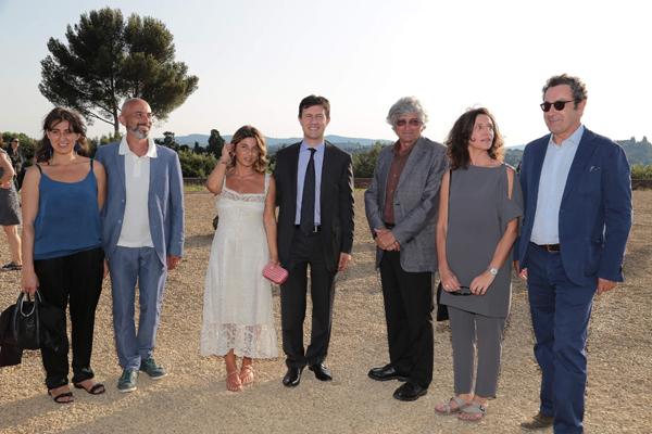 Arabella Natalini, Tetano Velotti, Monica Sarti, Dario Nardella, Giuseppe Penone, Sergio Risaliti
