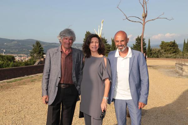 Giuseppe Penone, Arabella Natalini e Sergio Risaliti