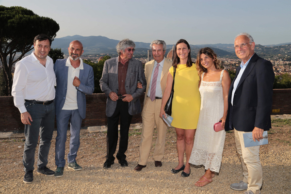 Marco Caramonti, Sergio Risaliti, Giuseppe Pennone, Alberto e Roberta Pecci, Monica Sarti, Pierluigi Marrani