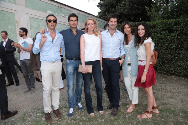 Tommaso Tassi, Lorenzo Nencini, Francesca e Niccolò Pini, Chiara Nencini, Carlotta Lana