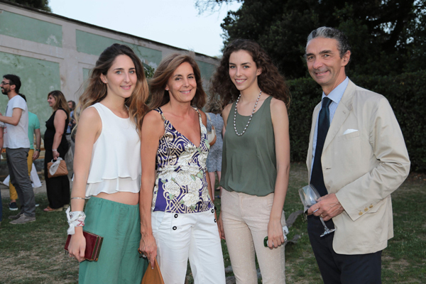 Irene, Lucia, Viola e Nicola Franceschini