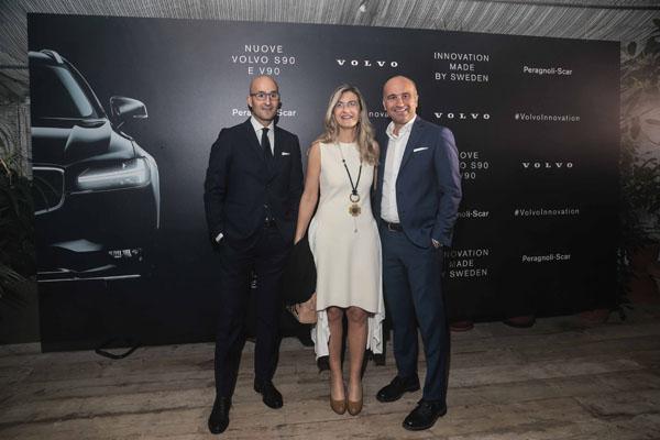 Claudio Mauro, Chiara Aneli e Alberto Peragnoli