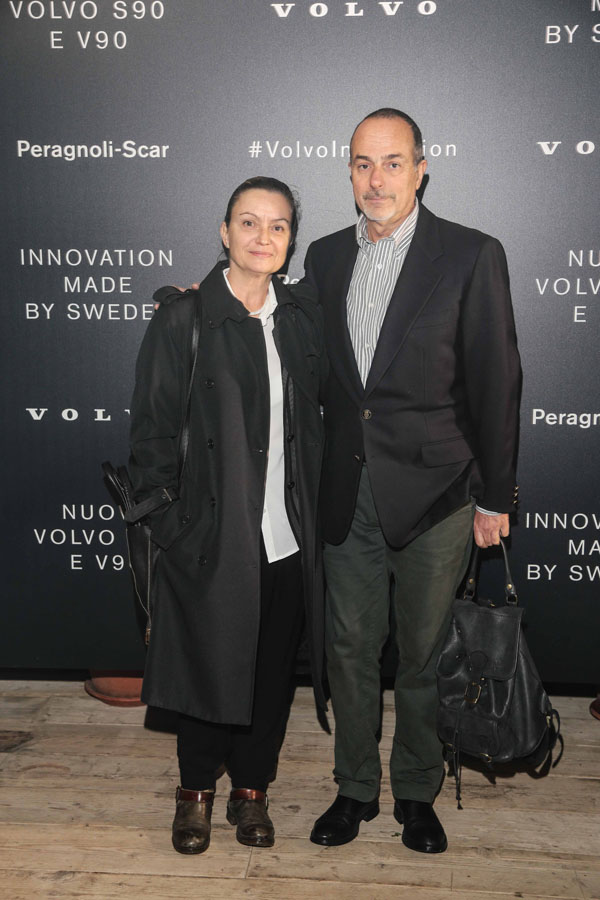 Andrea Ruoli e Barbara Vignolini