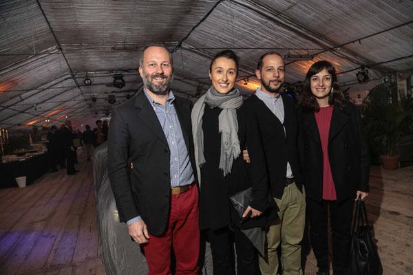 Francesco Barthel, Giulia Lemme, Nicola Torpei e Laura Ciomei