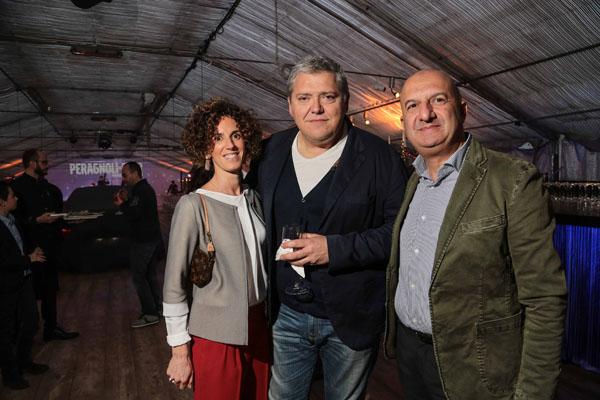 Erika Bertini con Enrico Tagliaferri e Pierluigi Picerno