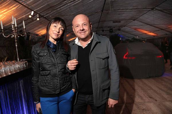 Andrea Bollini e Michela Piacenti