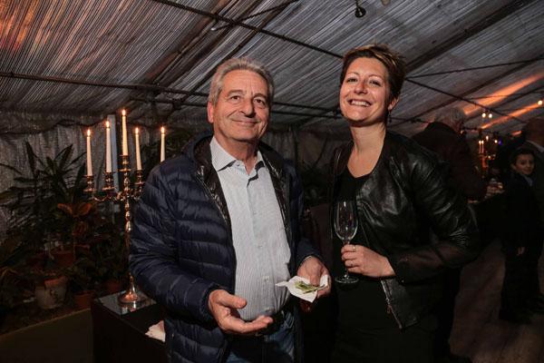Valentina Dell'Acqua e Giovanni Caciolli