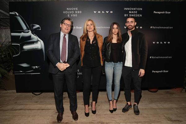 Paolo Rosini, Gaia Nocerini, Valentina Bianchi, Roberto Carlo Caprarella