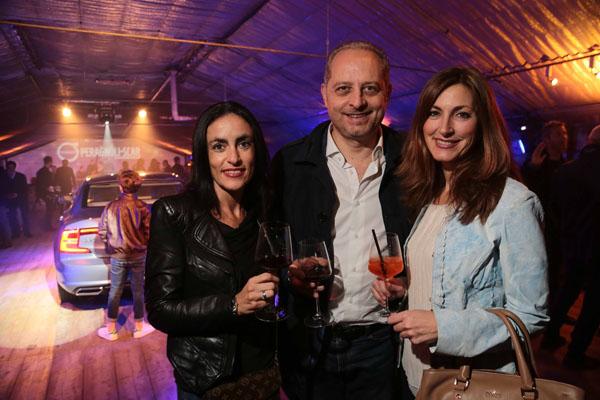 Lucia Romagnoli, Angela D'Eboli e Luca Lazzaroni