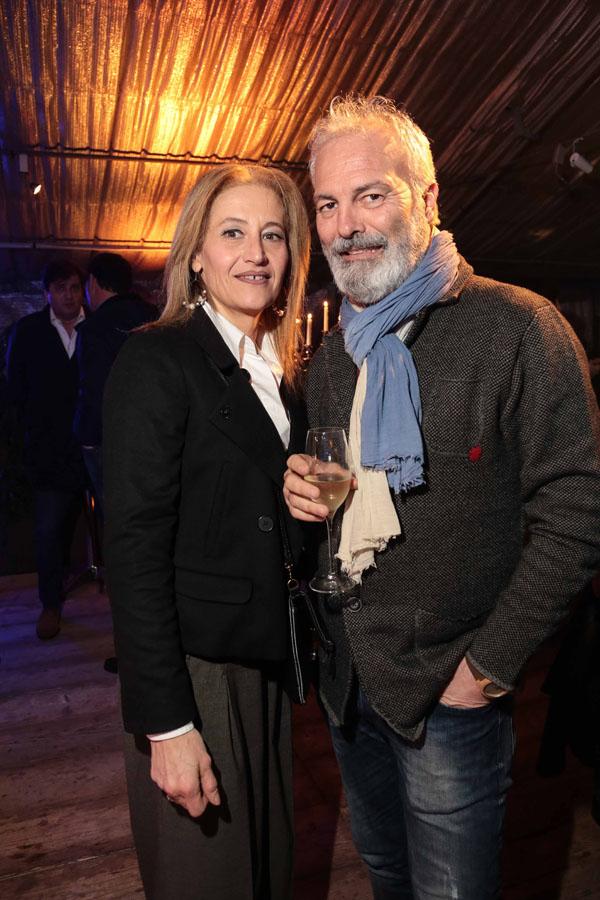 Monica Antonini e Enrico Fiumalbi
