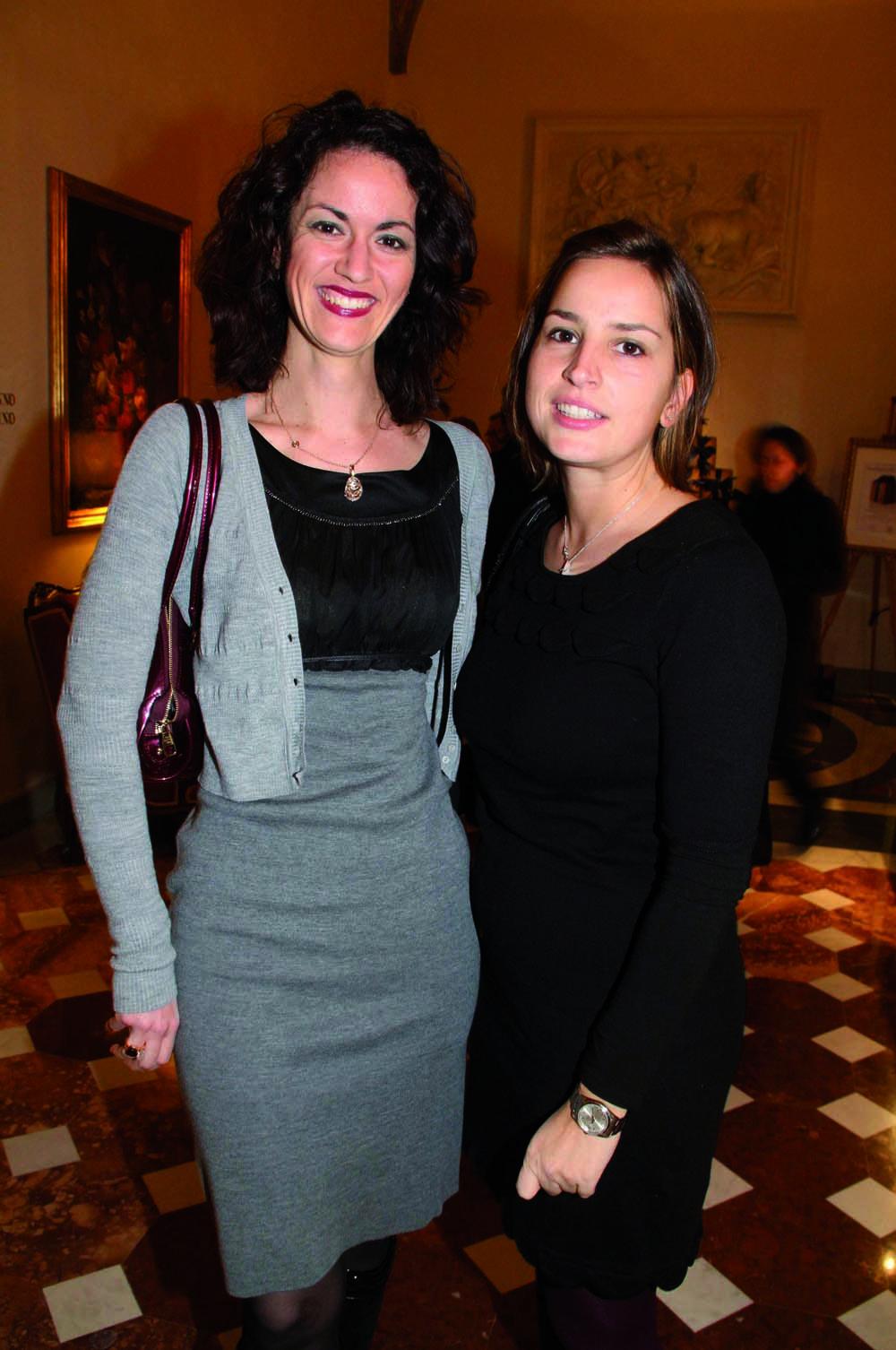 PressphotoFirenze -Hotel Four Season- Serata Piccini  nella foto: Gaia Spaziani, Romanelli Lerizia