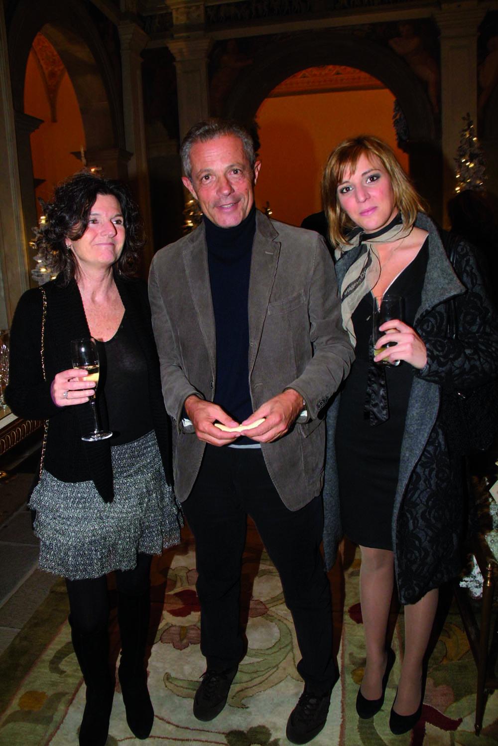 PressphotoFirenze -Hotel Four Season- Serata Piccini  nella foto: Cristina Piccini, Andrea Bussolin,Benedetta Bertoni