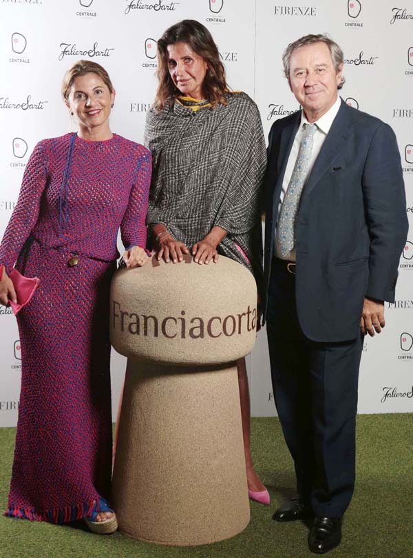 Monica Sarti, Albertina and Gaetano Marzotto