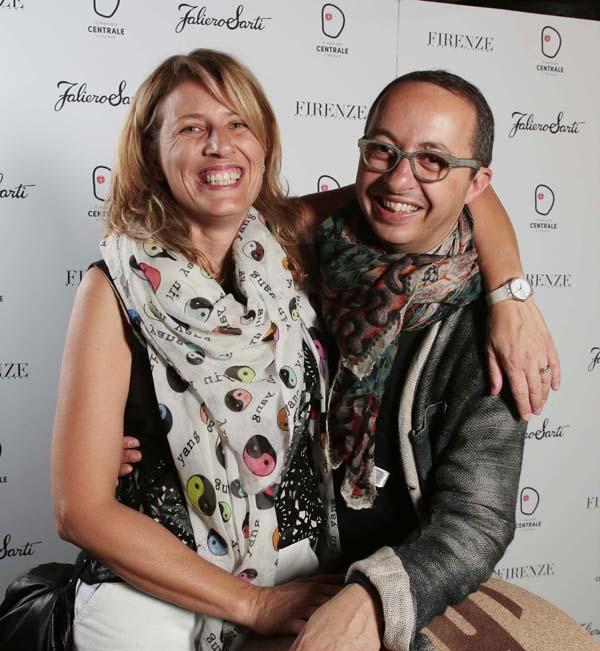 Michela and Maurizio Sarti