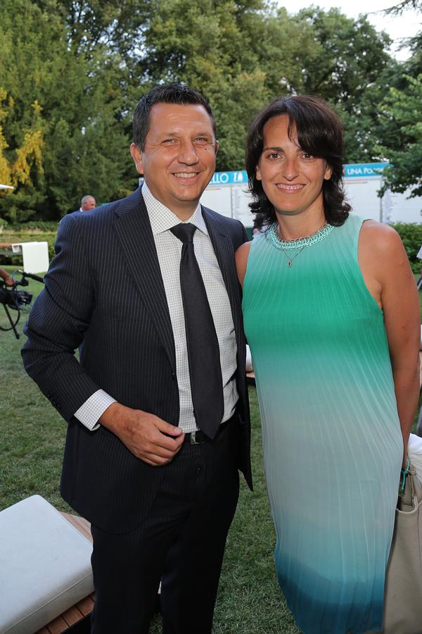 Angelo La Riccia, Simona Vecchies
