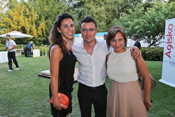 Cristina Visconti, Fabio Bacci, Noemi Taverniti