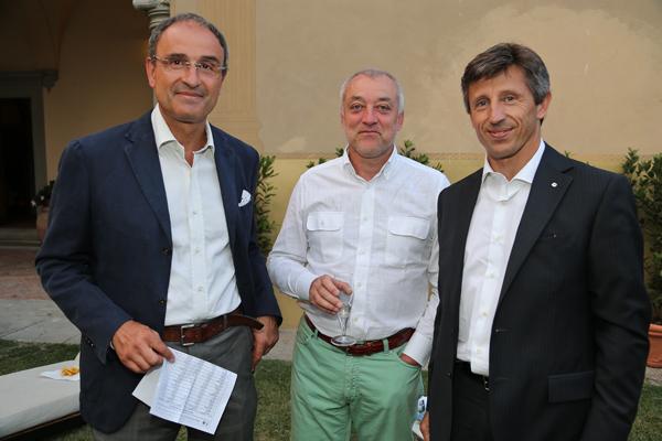 Enrico Duranti, Luciano Benassi, Daniele Carmine
