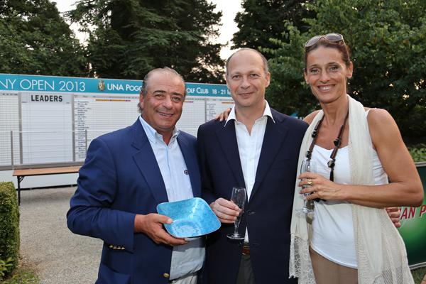 Costantino Rocca, Cristina Scaletti, Francesco Brogi