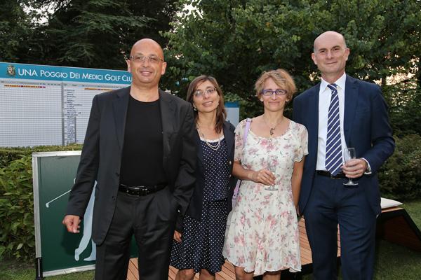 Gerri Martinuzzi, Sonia Menaldi, Lucia Mauri, Gabriele Palandri
