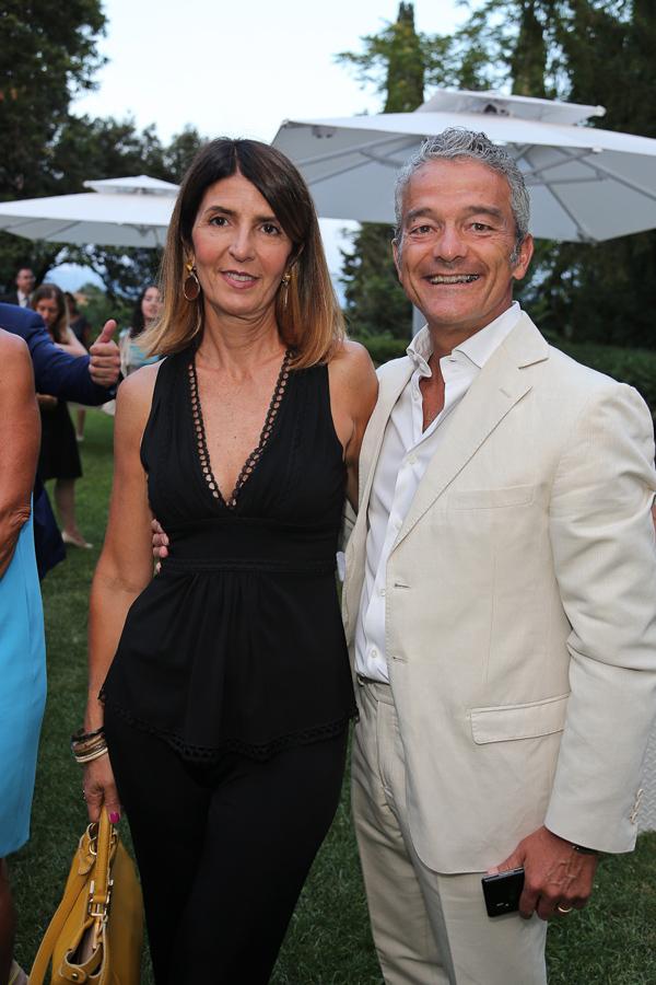 Alessandro and Paola Baldi