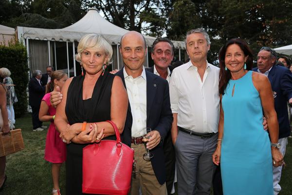 Angela e Carlo Ciabatti, Stefano and Patrizia Palazzini and Roberto Palmucci