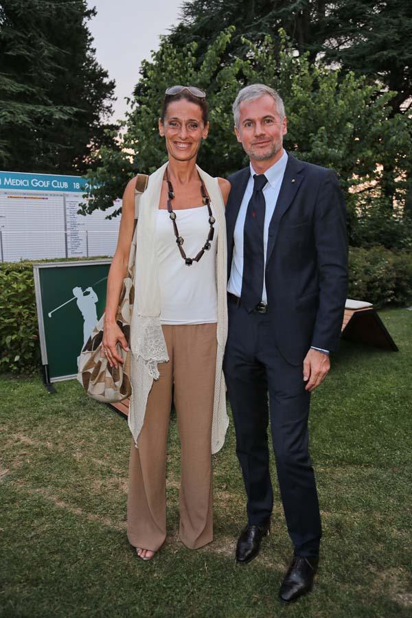 Cristina Scaletti,  Paolo Poli