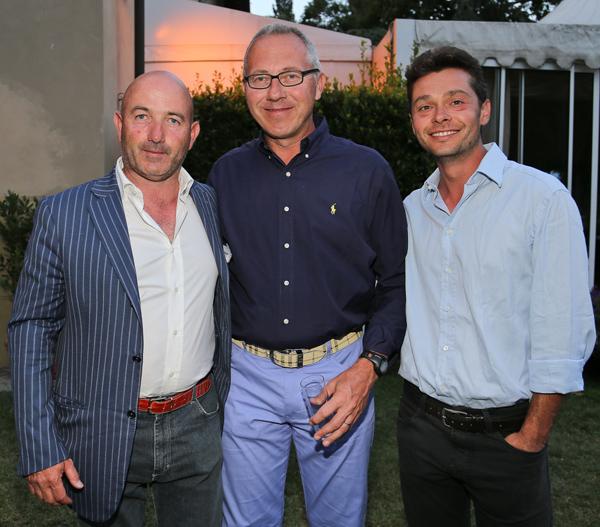 Giuliano Bagnoli, Gino Bedoni, Pierpaolo Filippini