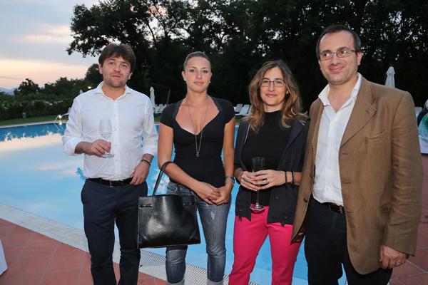 Giovanni Bettarini, Susanna Chiellini, Erika Calvani e Marco Talluri
