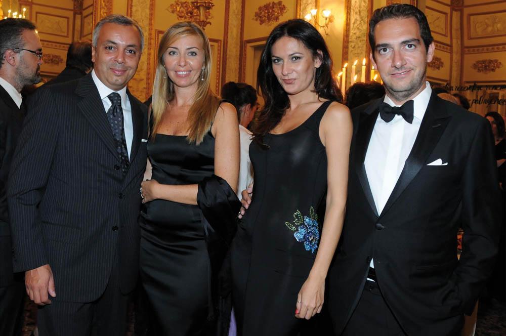 Pressphoto,Firenze Inaugurazione Polimoda -  Alessandro Papini, Silvia Pacuvio, Alina Andreea Bota, Alessandro Giudice