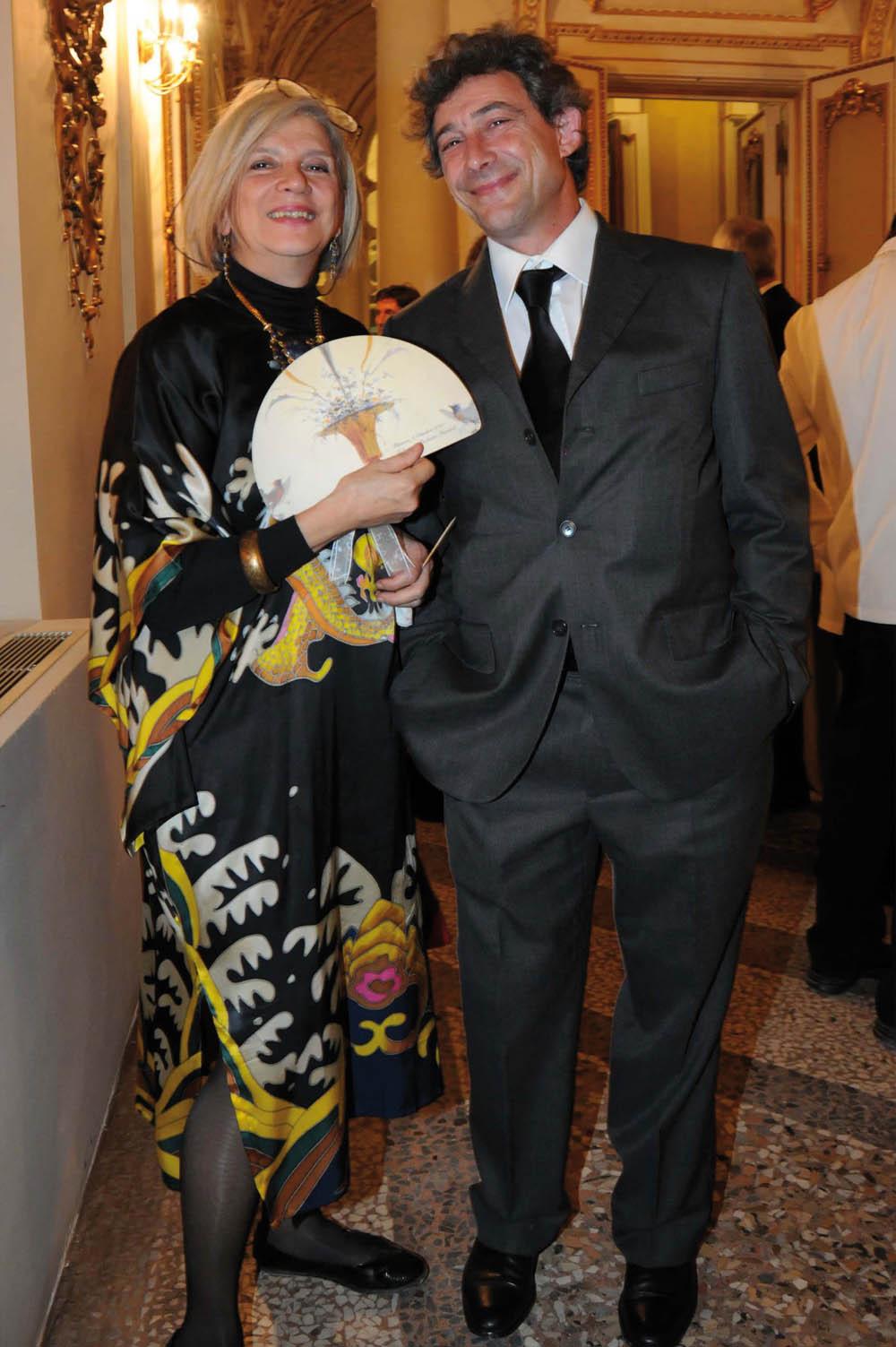 Pressphoto,Firenze Inaugurazione Polimoda - Beatrice Ciufuentes Sarmiento, Fabio Del Cioppo