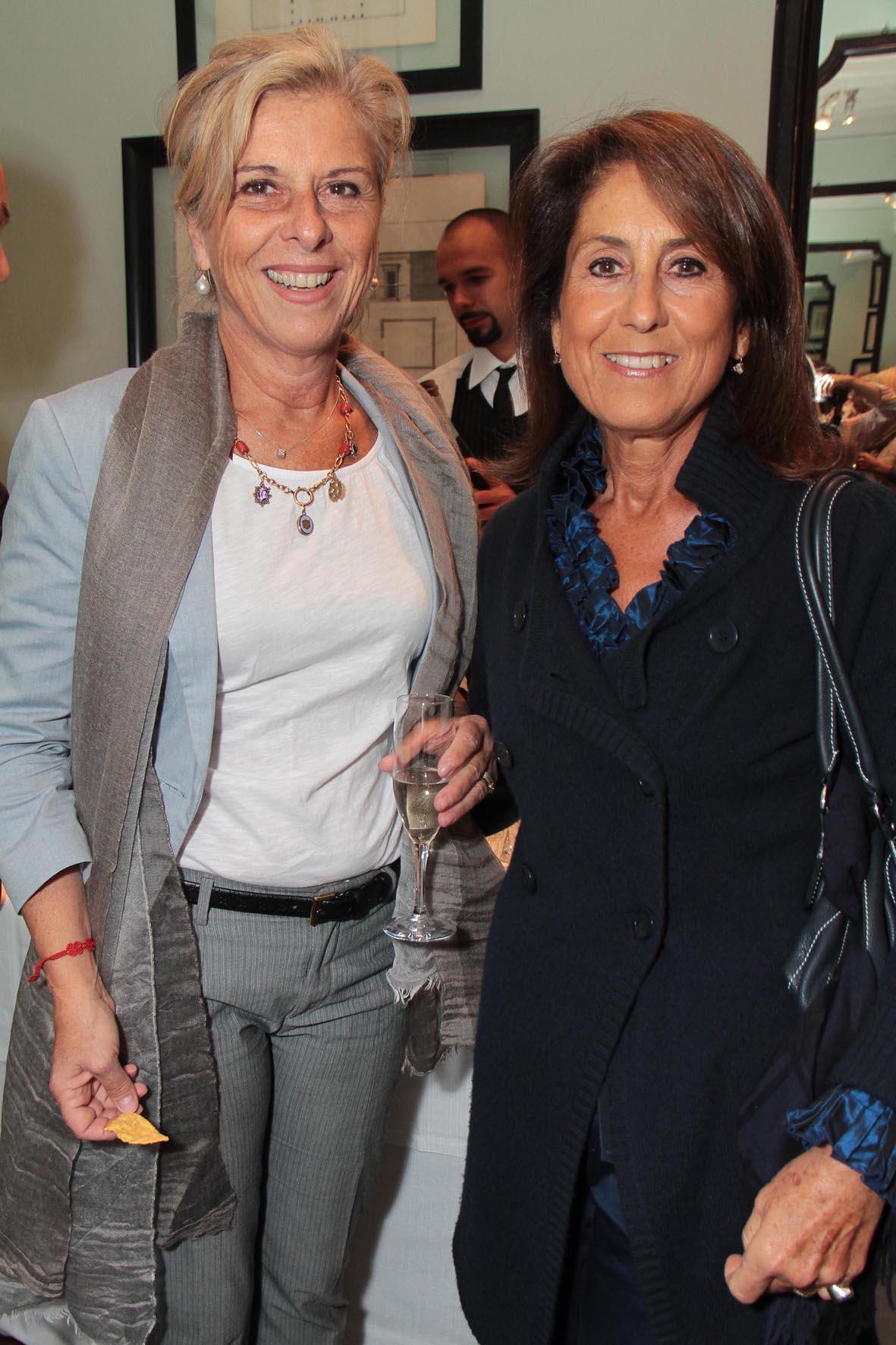 PRESSPHOTO. Firenze, JK Place, presentazione nuova collezione Pomellato. Firenze Magazine. Nella foto Lucia Beretta e Maria Preti Giuseppe Cabras/New Press Photo