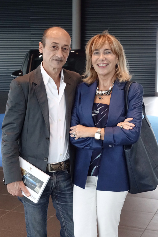 Ugo and Antonella Nicolini