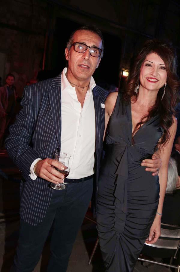 Federico and Ilaria Santagata