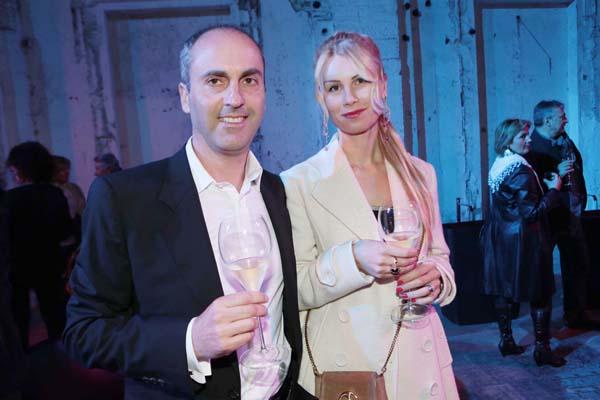 Cristian and Giulia Mereggi